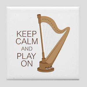 Play On Tile Coaster