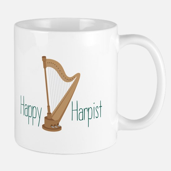 Happy Harpist Mugs