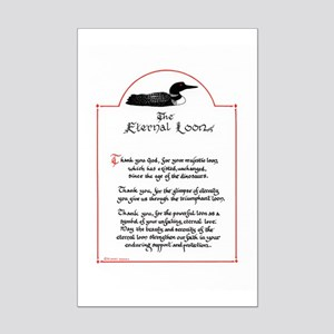 Eternal Loon, Mini Poster Print