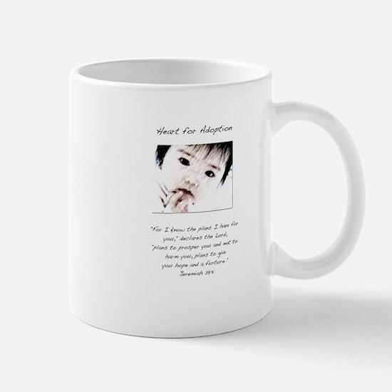 Adoption Design Asian Baby.jpg Mugs