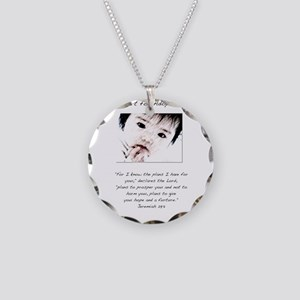 Adoption Design Asian Baby Necklace