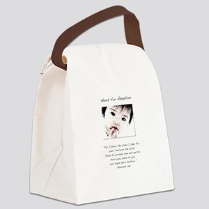 Adoption Design Asian Baby Canvas Lunch Bag