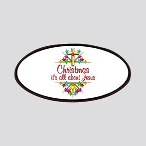 Christmas About Jesus Patches