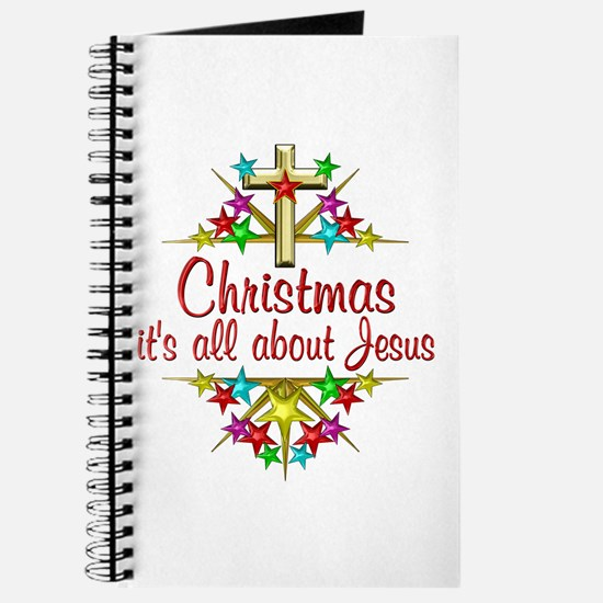 Christmas About Jesus Journal