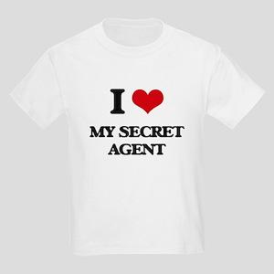 I Love My Secret Agent T-Shirt