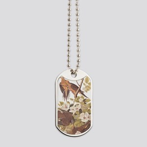 Audubon's Carolina Pigeon or Turtle Dove Dog Tags