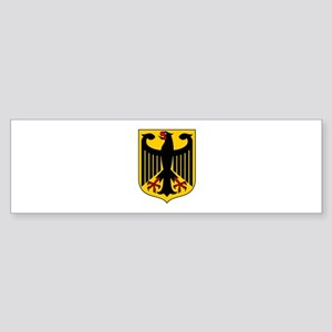 GERMANY COAT OF ARMS Bumper Sticker