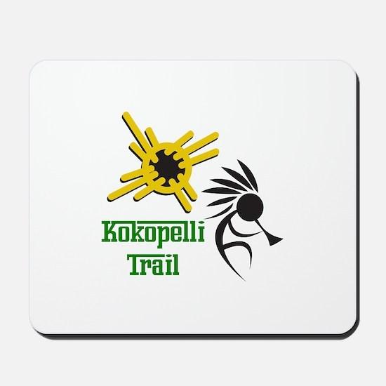 KOKOPELLI TRAIL Mousepad