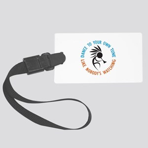 DANCE TO YOUR OWN TUNE Luggage Tag