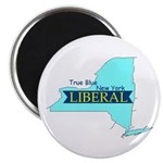 True Blue New York LIBERAL - Magnet