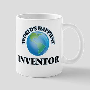 World's Happiest Inventor Mugs