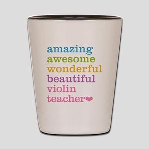 Violin Teacher Shot Glass
