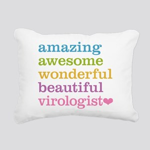 Awesome Virologist Rectangular Canvas Pillow