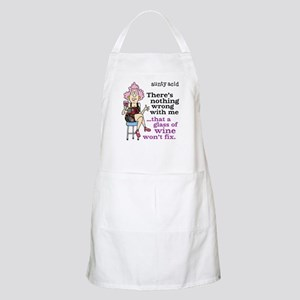 Aunty Acid: Glass of Wine Apron