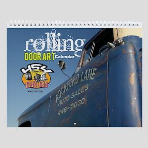 Rolling Door Art Wall Calendar
