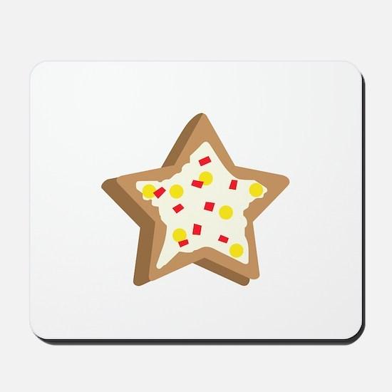 SUGAR COOKIE STAR Mousepad