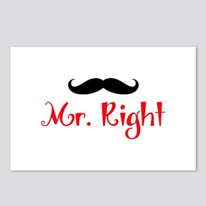 MR RIGHT Postcards (Package of 8)