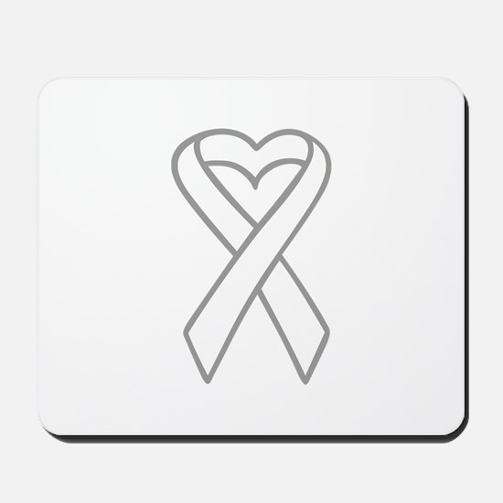 LUNG CANCER RIBBON Mousepad