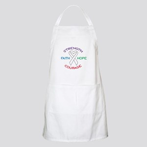 HOPE FAITH COURAGE STRENGTH Apron