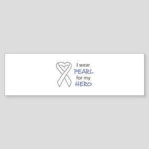PEARL FOR MY HERO Bumper Sticker