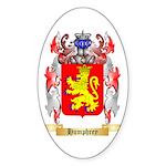 Humphrey Sticker (Oval 10 pk)