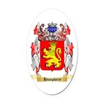 Humphery Oval Car Magnet