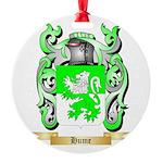 Hume Round Ornament