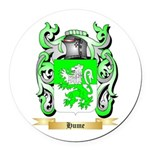 Hume Round Car Magnet