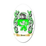 Hume 20x12 Oval Wall Decal