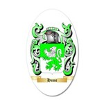 Hume 35x21 Oval Wall Decal