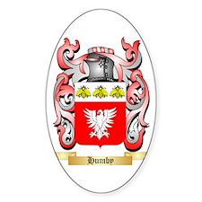 Humby Sticker (Oval)