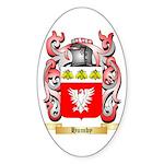 Humby Sticker (Oval 50 pk)