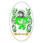 Hulme Sticker (Oval)