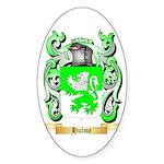 Hulme Sticker (Oval 50 pk)