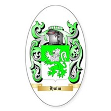 Hulm Sticker (Oval)