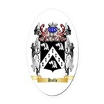 Hulle Oval Car Magnet