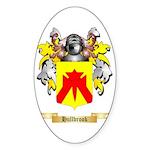 Hullbrook Sticker (Oval 50 pk)