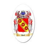 Hull 20x12 Oval Wall Decal