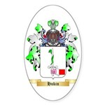 Hukin Sticker (Oval 50 pk)