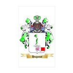 Hugonot Sticker (Rectangle 50 pk)