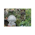 Bogota Statue Rectangle Magnet
