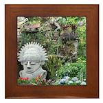 Bogota Statue Framed Tile