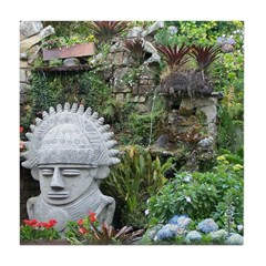 Bogota Statue Tile Coaster