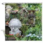 Bogota Statue Shower Curtain
