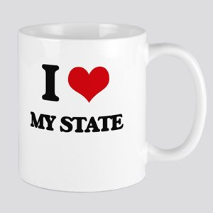 I love My State Mugs