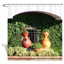 Colombian Vases Shower Curtain
