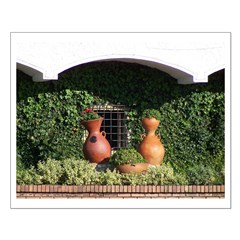 Colombian Vases Small Poster