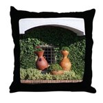 Colombian Vases Throw Pillow