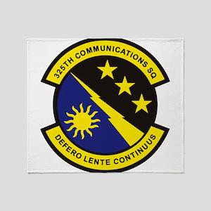 325th Comm SQ Throw Blanket