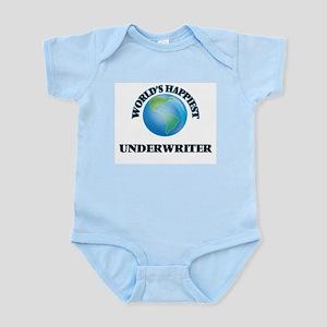 World's Happiest Underwriter Body Suit